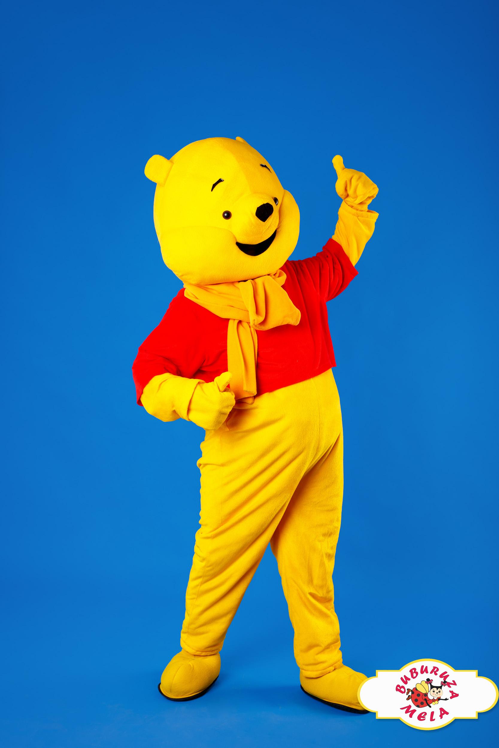 Winnie Pooh Mascotă