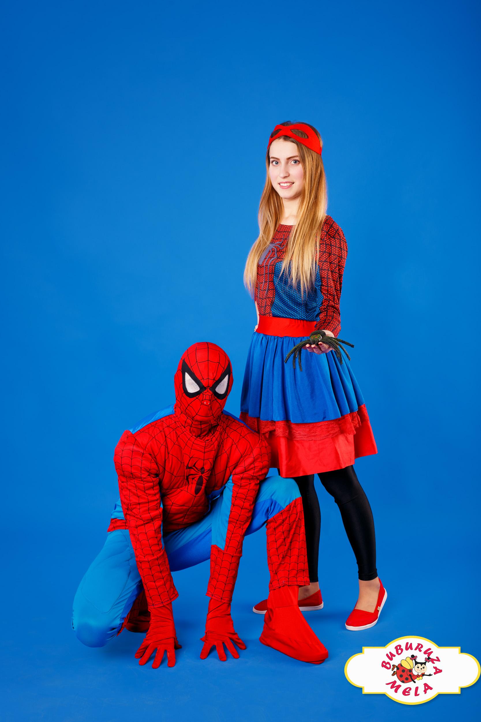 Человек-Паук и Spider Girl