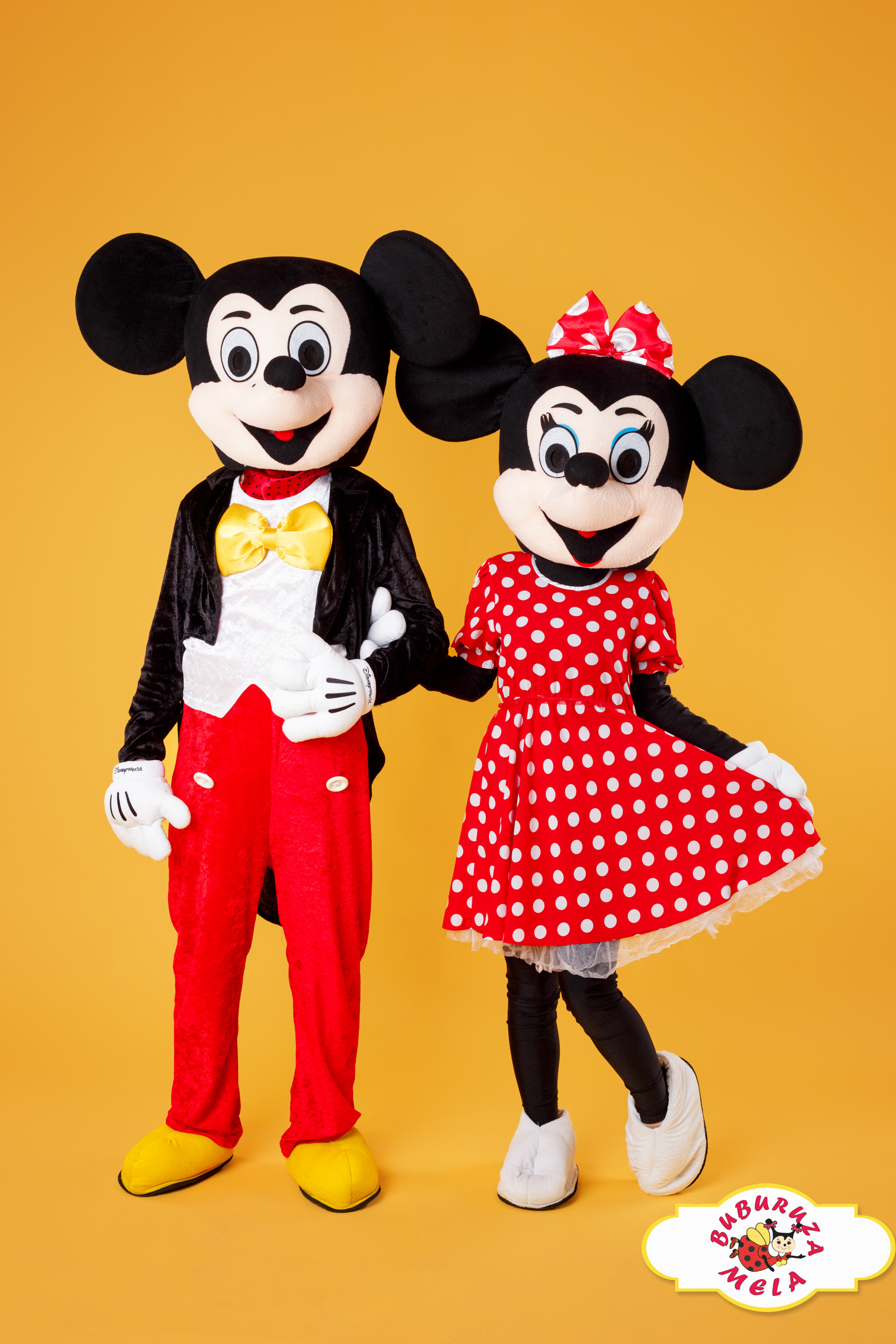 Minnie și Mickey Mouse Mascote V1